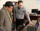 بازدید دکترکاتوزیان از پژوهشکده توسعه
